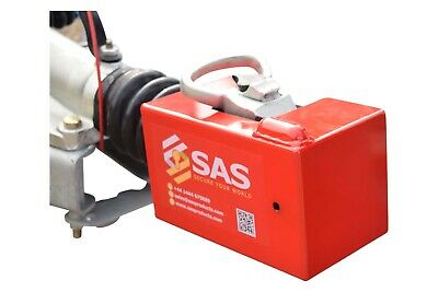 New SAS Fort A Fortress Trailer Hitch Lock For Avonride Ifor Williams Couplings✅ • 99.99£