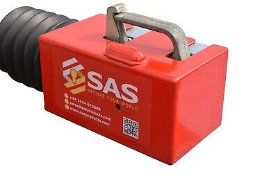 New SAS Fort IB Fortress Trailer Hitch Lock For Bradley Indespension Couplings ✅ • 114.99£