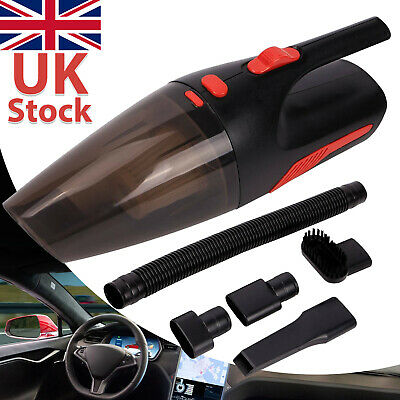 120W Car Vacuum Cleaner Wet Dry 12V Handheld 3 In 1 Portable Powerful Hand • 8.99£