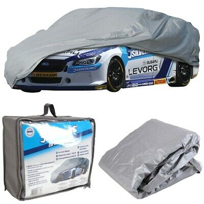 Heavy Duty FULL CAR COVER Elastic Outdoor Small S Scratch Proof Waterproof UV • 22.98£