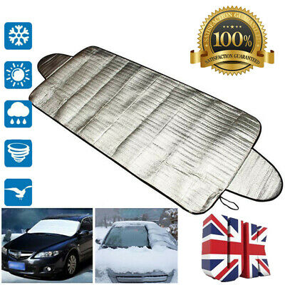 Car Frost & Snow Protector Windscreen Cover Winter Ice Dust Shade Screen Shield • 4.39£