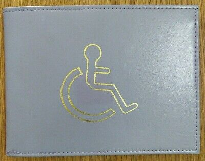 Lilac Disabled Disability Blue Badge Holder New Real Leather  • 1.60£