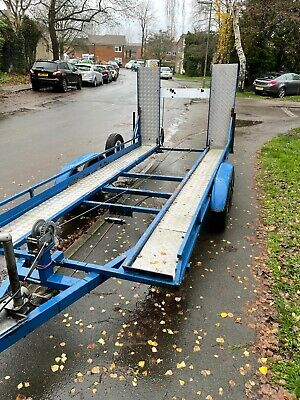 Car Trailer. Small Car Transporter. Mini Or Classsic Car Etc Twin Axel. Delivery • 650£