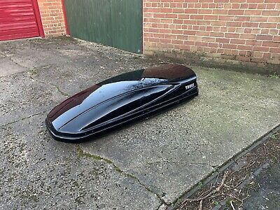 Thule Atlantis 780 Roof Box Gloss Black In Great Condition • 175£