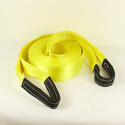 13T 10 Meter 4x4 Heavy Duty Recovery Winch Tow Snatch Strap Rope Towing Offroad  • 29.95£