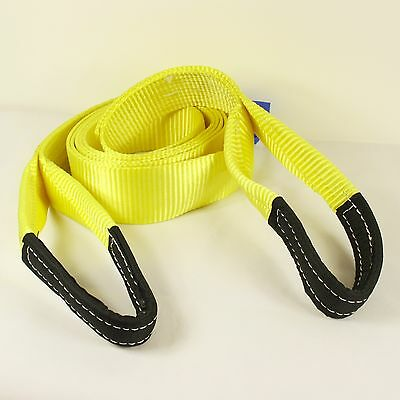 Recovery Winch 4x4 Tow Snatch Strap 4 Meter  Tow Rope 13.5Ton Towing Offroad  • 16.95£