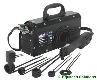Sealey Tools VS230  Induction Heating Heater Coil Gun Tool Kit 2000W 2KW 230V • 648.95£
