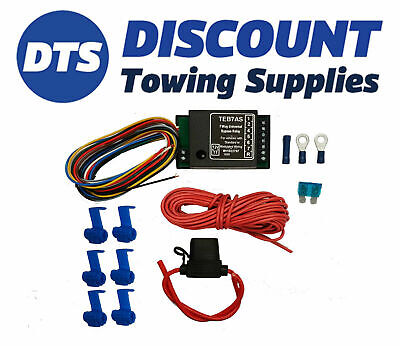Universal Towbar Smart 7 Way Bypass Relay Kit For Cambus & Multiplex Wiring • 24.95£