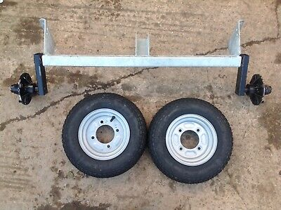 BRAND NEW - Erde 102 Axle And 2 Wheels • 165£