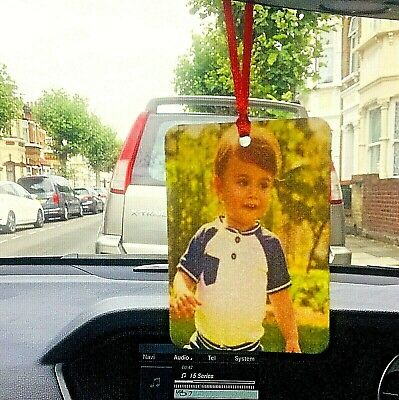 Personalised Car Air Freshener (Double Sided Print) Buy 3 Get 1 Free • 3.79£
