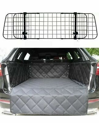 Mesh Headrest Pet Dog Guard + Quilted Boot Liner FOR RANGE ROVER EVOQUE 2011>>> • 49.99£