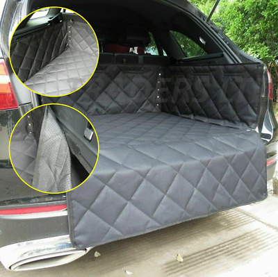 Heavy Duty Quilted Estate Car Boot Cover Mat Liner Rear Trunk Pet Dog Protector • 23.99£