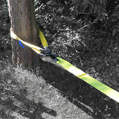 Tree Saver Strap Winch Recovery Tow Strap Pull Trunk Protector 2 Metre Long • 29.95£