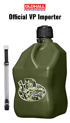 VP Racing 20 Litre Square Quick Fuel Container / Jug - Camo - WITH DELUXE HOSE • 45£