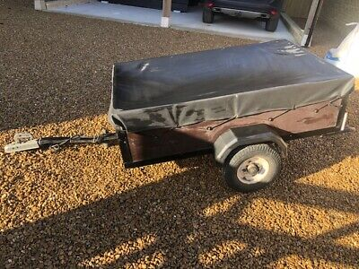 Car Trailer 5' X 3' In Good Working Condition • 70£