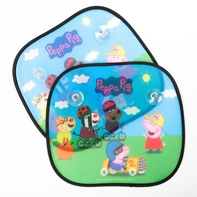 Peppa Pig - George Sunscreens (set Of 2), Childrens Character Car Sun Shades • 6.99£