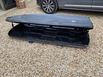 Bmw Branded X5 Roof Box, Black, Used, Abingdon Area • 99£