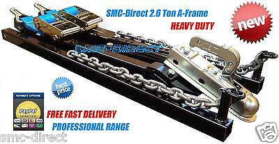 SMC Car Towing A Frame 2.6Ton Recovery Dolly Trailer Heavy Duty Professional NEW • 179.99£