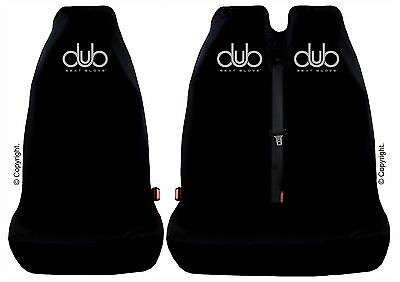 GENUINE DUB SEAT GLOVE Seat Covers Fit Volkswagen T5 Front Single & Twin Seats • 41.98£