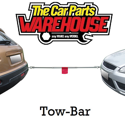 TOW / RECOVERY POLE No Need For Rope Or Bungy Any More Safe And Easy Towing Bar • 18.49£