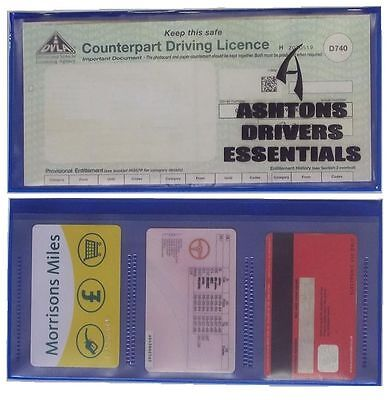 Ashtons Paper Driving Licence Card Wallet Holder D740 Photo Card  • 2.95£