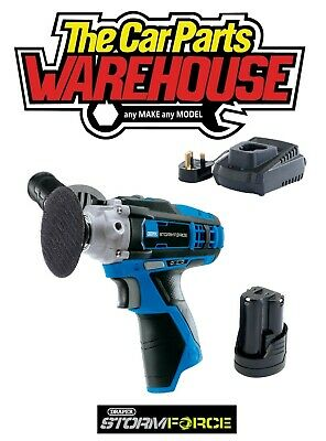 Draper 02330 Storm Force® 10.8V Mini Polisher INCLUDING BATTERY And CHARGER • 69.95£