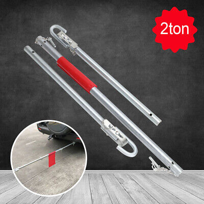 2 Ton Recovery Tow Bar Towing Pole Heavy Duty Straight Pipe Steel Car Van U157 • 16.59£