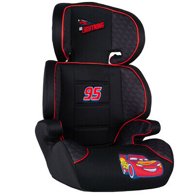 Disney CARS Child Boys 2in1 Car Booster Seat Forward Facing Group 2/3 15-36kg • 65.99£