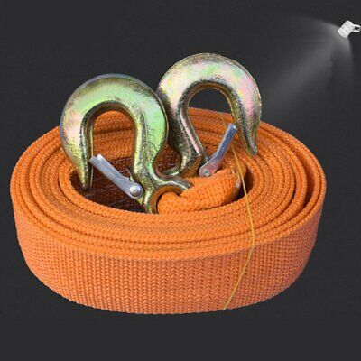 Tow Rope 8T 4x4 6M Thicken Heavy Duty Towing Pull Strap Road Recovery 2 Shackles • 12.39£