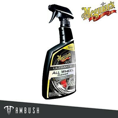 Meguiar's Ultimate All Wheel Cleaner Iron Remover 709ml G180124EU • 14.39£