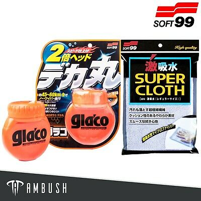 Soft99 Glaco Roll On Large 120ml Car Window Protective Coating 99-4107 • 14.95£