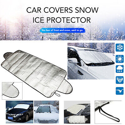 Windshield Cover Snow Ice For Car Frost Guard Winter Protector Magnetic Auto • 4.89£