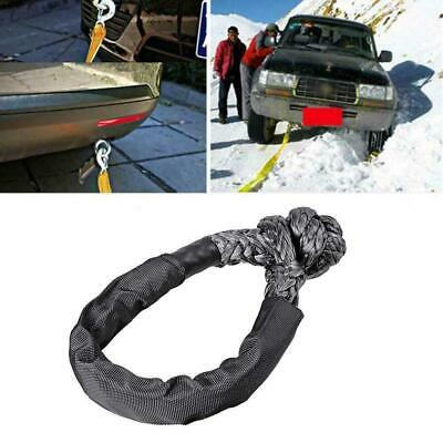 Soft Shackle Sleeve Fiber Synthetic Winch Recovery Durable 38000lbs Rope I1G9 • 8.29£