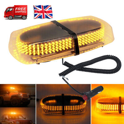 240LED Car Roof Recovery Light Bar Amber Magnetic Warning Strobe Flashing Beacon • 22.99£