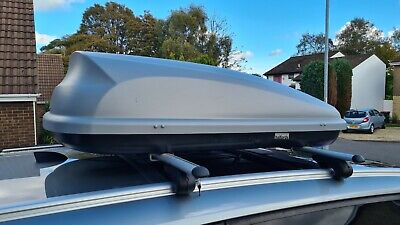 Halfords Large 320L Roof Box With Lock • 50£