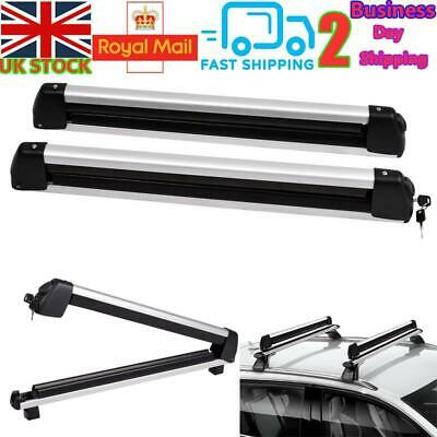 Universal Ski Snowboard Roof Rack Carriers For 6 Pair Skis Or 4 Snowboards • 61.50£