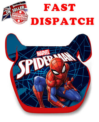 NEW Marvel SPIDERMAN Kids Baby Boys CAR Booster Seat 15-36kg 3-12years Group 2/3 • 25.99£