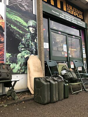 Genuine Military Surplus Jerry Cans Used All Have Rust Or Slight Damage • 10£