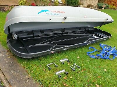 Kamei Delphin 470 Roof Box Large Family Box • 120£