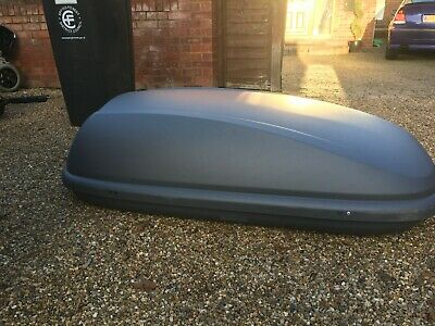 Halfords 320L Roof Box • 80£