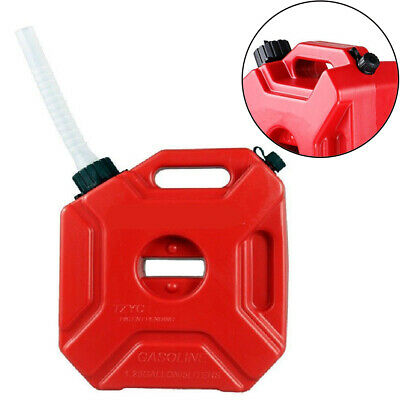 5L/1.3 Gallon Jerry Cans Gas Fuel Tank Car Storage Fuel Petrol Diesel Container • 27£
