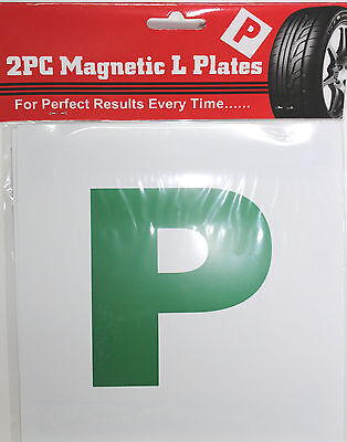 New Driver 'p' Pass Plates - New Driver Alert Wholesale • 1.49£