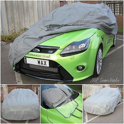 Breathable Water Resistant Full Car Cover To Fit Ford Focus ST Mk2 2005-2011 (L) • 22.99£