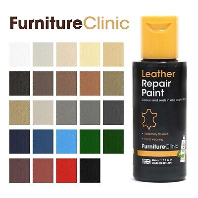 ALL IN ONE 60ml Leather Repair Paint. For Dyeing And Restoring Leather • 9.95£