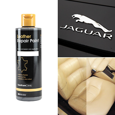ALL IN ONE JAGUAR Leather Repair Paint (large) To Dye And Restore Leather • 14.95£