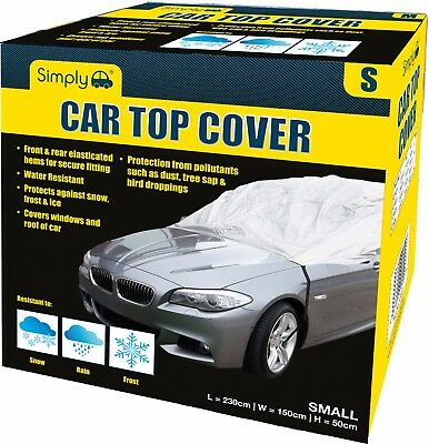 Simply Water Rain UV Sun Frost Resistant Fully Breathable Car Top Cover - Small • 9.99£