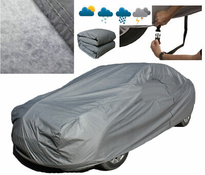 Heavy 2.2KG Full Car Cover 100% Waterproof Breathable Outdoor For Audi A4 A5 A6 • 33.96£