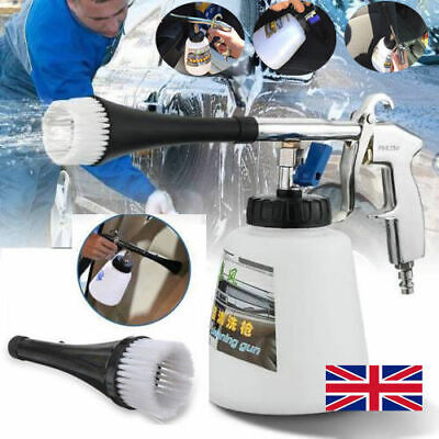 High Pressure Car Cleaning Tool Interior Cleaner Air Pulse Auto Cleaning Gun Kit • 11.59£