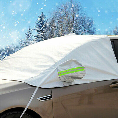Car Windscreen Mirror Shield Cover Frost Ice Snow UV Sun Dust Screen Protector • 9.99£