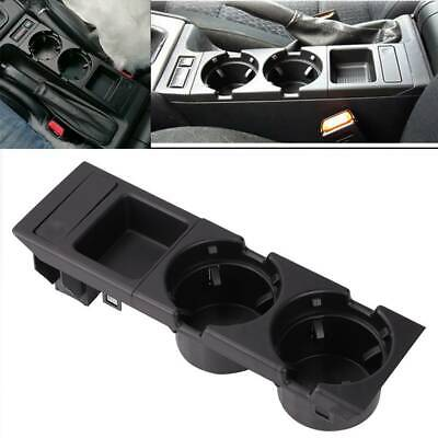 For BMW E46 325 328 330 1999-06 UK Center Console Drink Cup Holder Coin Storage • 16.69£